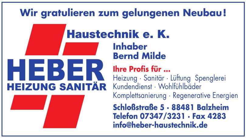 Heber Haustechnik e. K.