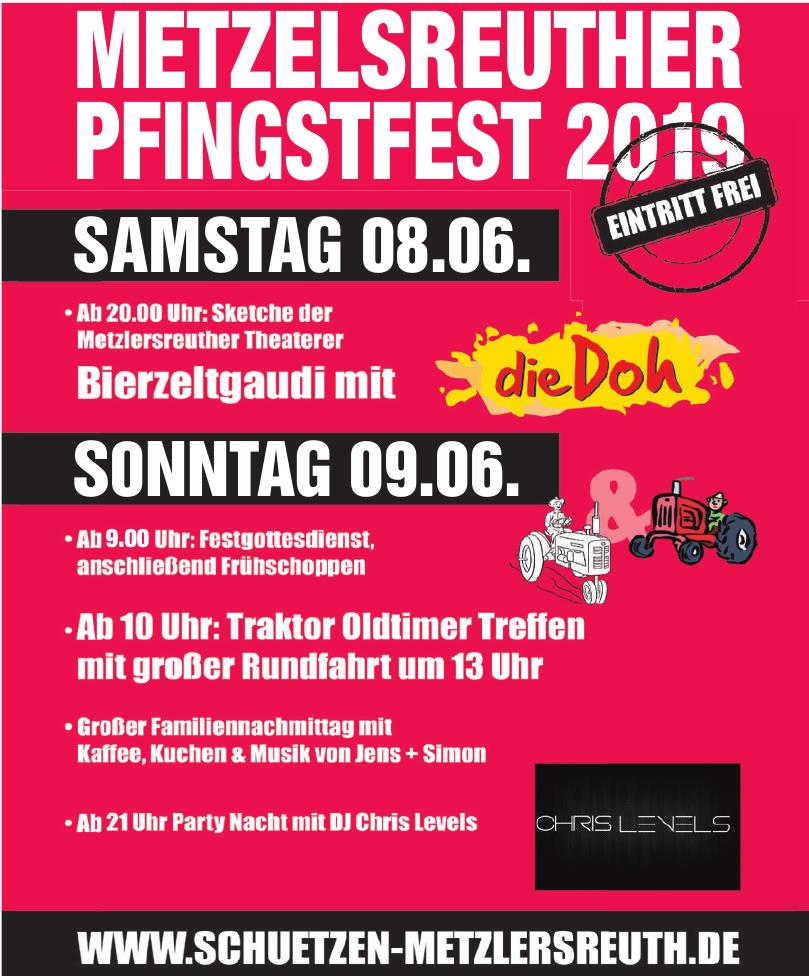 Metzlersreuther Pfingstfest 2019