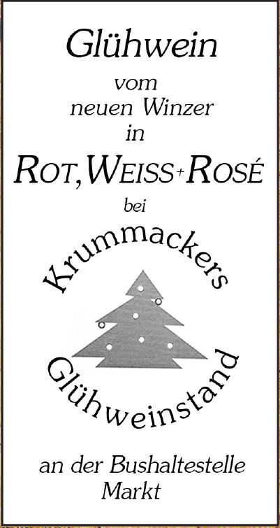 Krummackers Glühweinstand