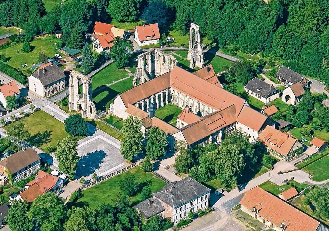 Das Kloster Wöltingerode ist ein touristisches Zentrum. Foto: VS-Archiv