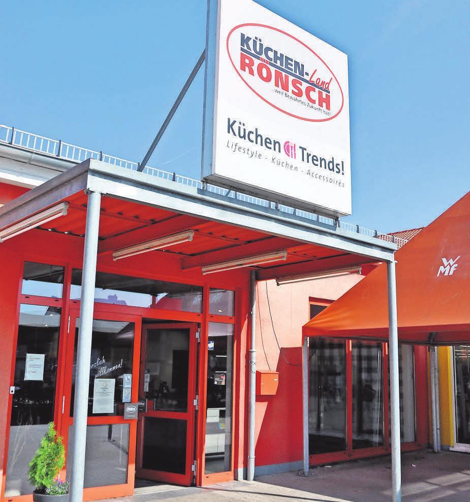 Eine der ersten Adressen: Küchenland Rönsch inHemmingen.