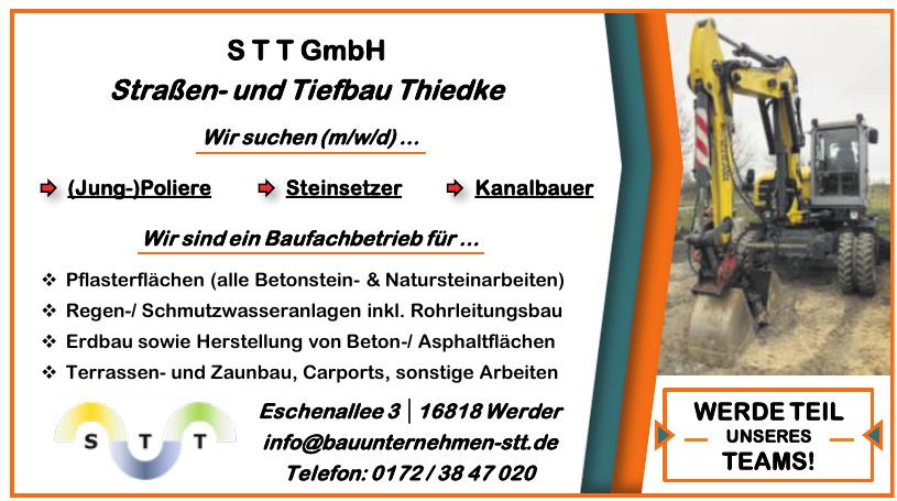 STT GmbH Straßen- und Tiefbau Thiedke
