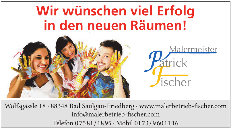 Malerbetrieb Patrick Fischer