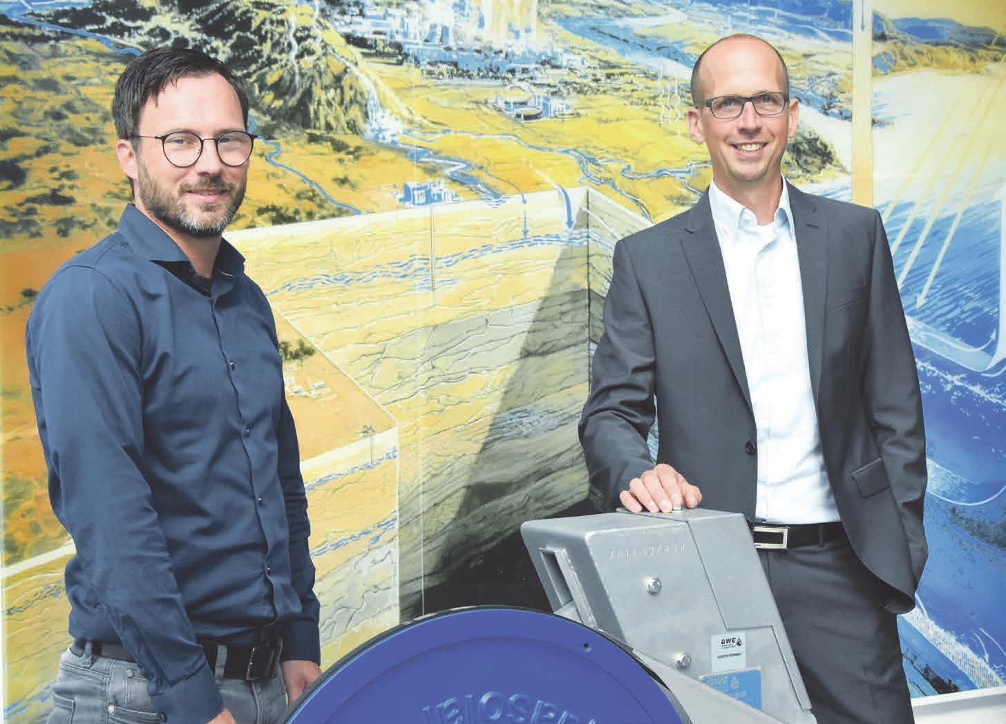 Markus Hollmann und Benjamin Küster blicken optimistisch in die Zukunft. Foto: Stallmann