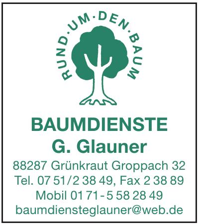 Baumdienste G. Glauner