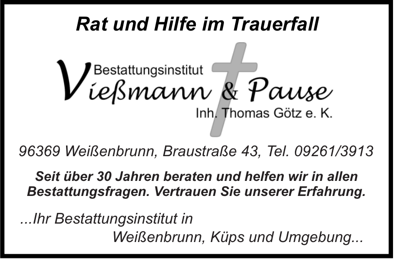 Bestattungsinstitut Vießmann & Pause