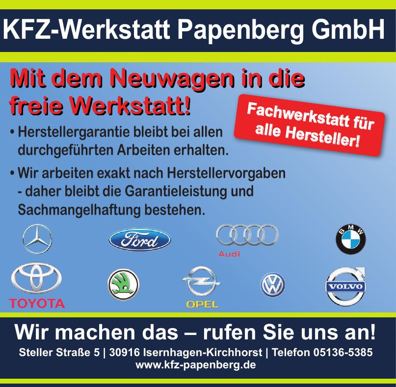 Kfz-Werkstatt Papenberg GmbH