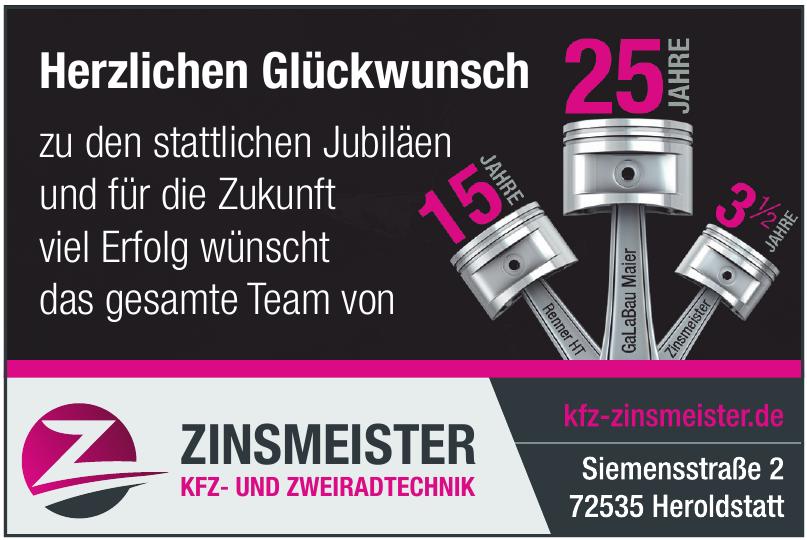 Zinsmeister Kfz- und Zweiradtechnik