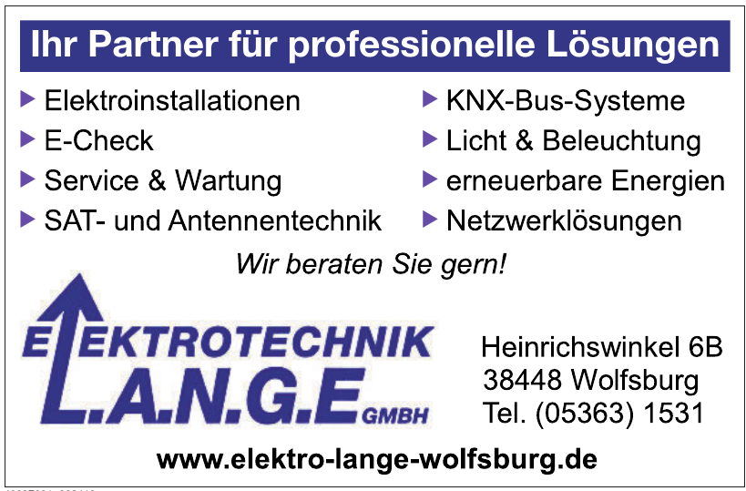 Elektrotechnik L.A.N.G.E GmbH
