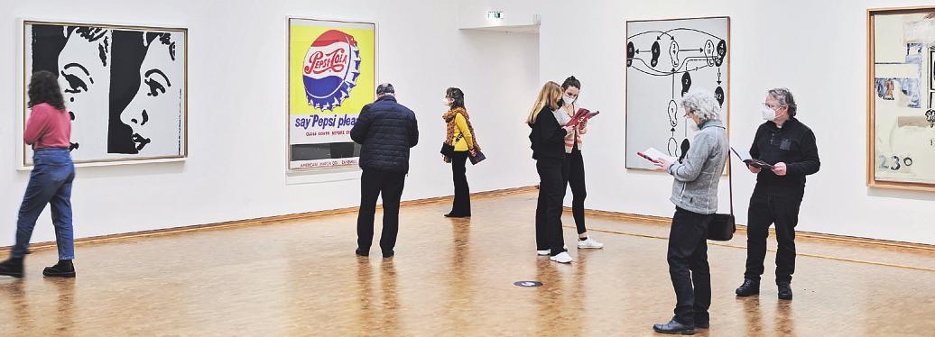 Die Werkschau zeigt berühmte und weniger bekannte Werke des erfolgreichen Grafikers und Popart-Künstlers. Alle Fotos: Museum Ludwig/Nathan Ishar, Alle Werke: © 2021 The Andy Warhol Foundation for the Visual Arts, Inc., Licensed by Artists Rights Society (ARS), New York
