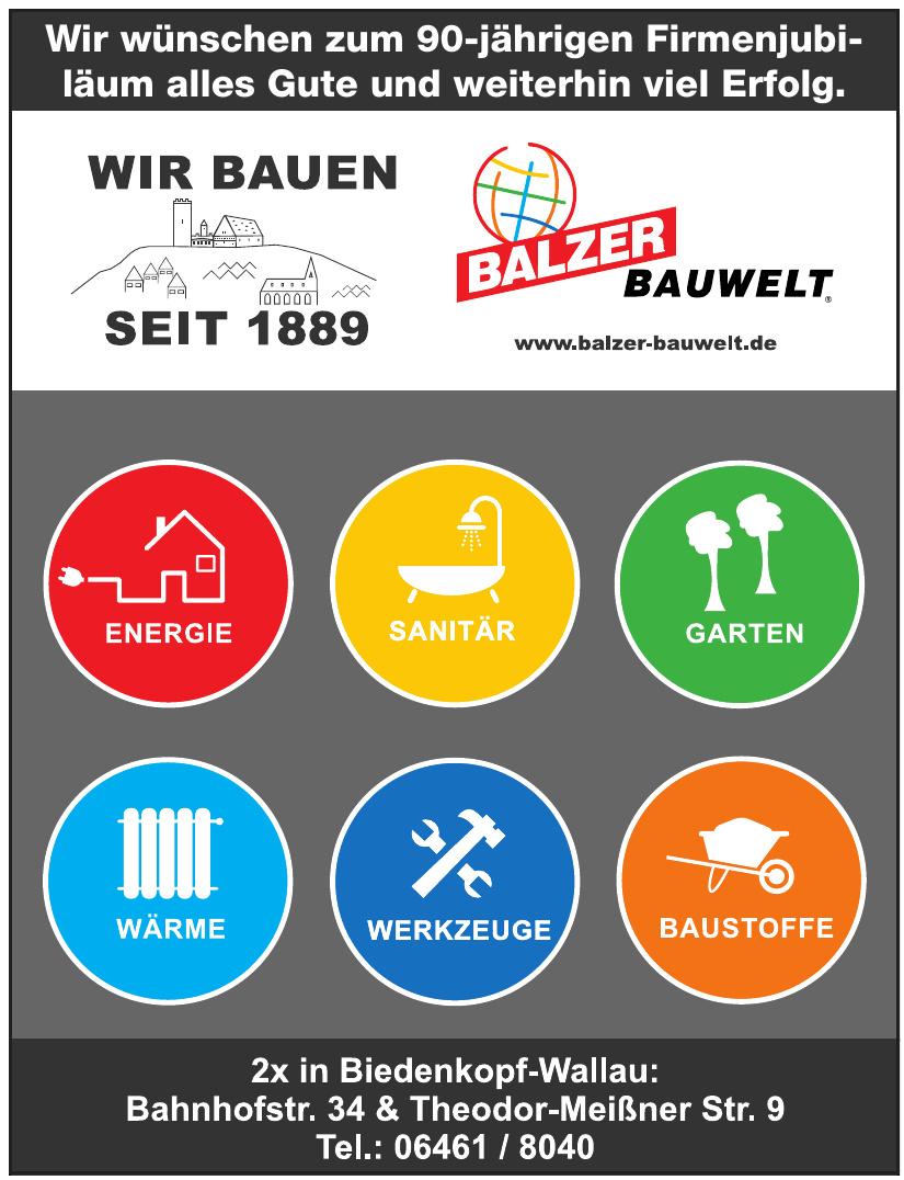 Balzer Bauwelt