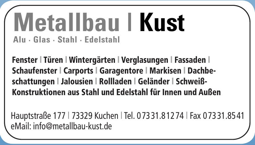 Metallbau - Kust