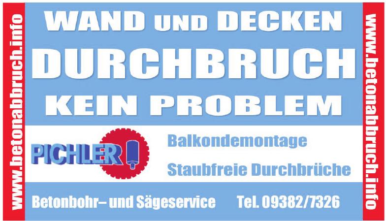 Pichler Betonbohr- und Sägeservice