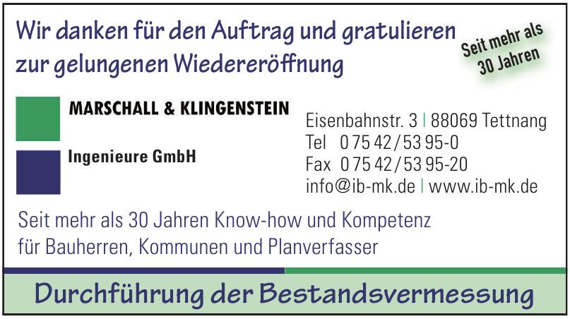 Marschall & Klingenstein Ingenieure GmbH