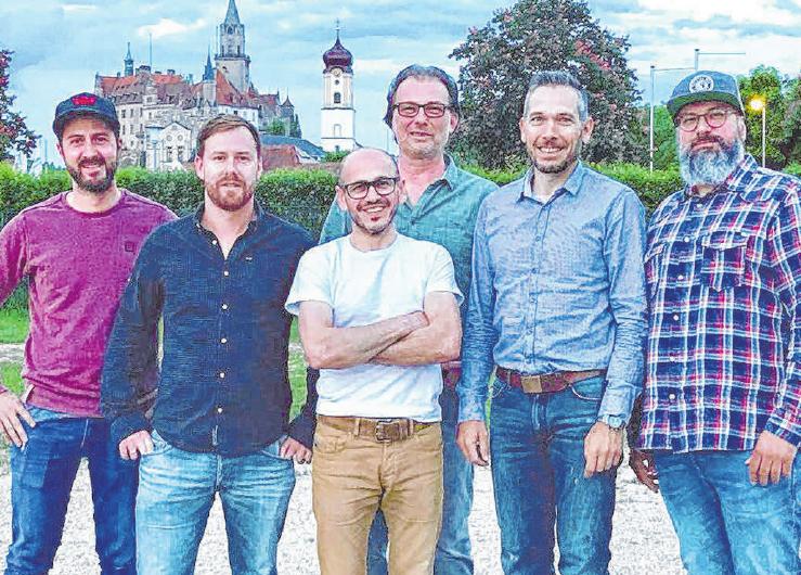 Das Veranstalterteam (v.l.) Tobias Flohr, Philipp Geuder, Neff Beser, Guido Sigl, Matthias Eisele und Sascha Agic freuen sich auf viele tausend Besucher.