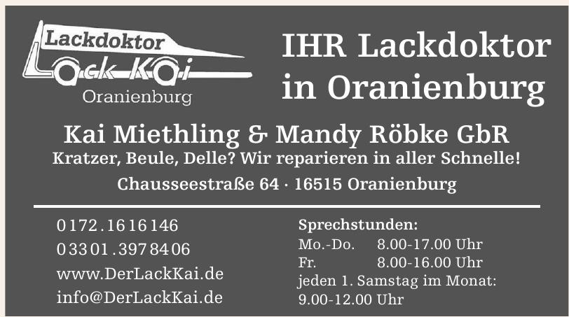 Kai Miethling & Mandy Röbke GbR