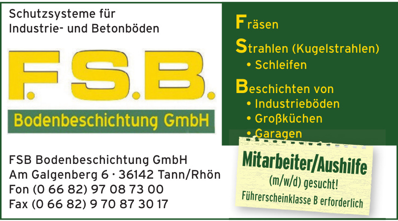 FSB Bodenbeschichtung GmbH