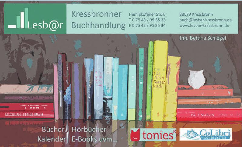 Lesbar Kressbronner Buchhandlung