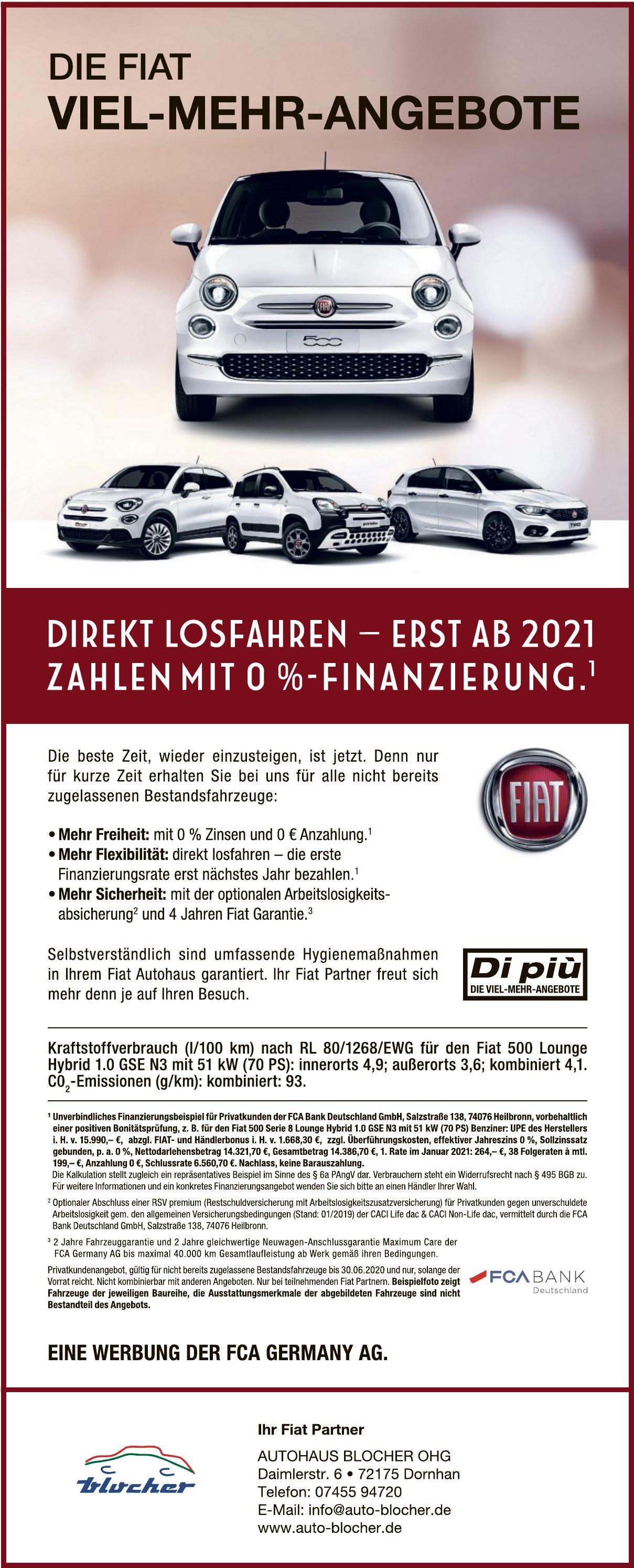 Autohaus Blocher OHG
