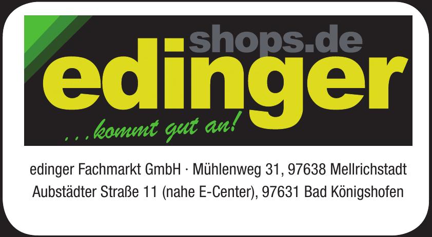 edinger Fachmarkt GmbH