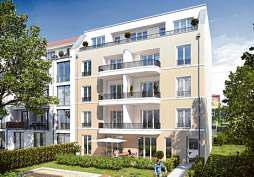 Neue Stadtvilla in der Bleicheroder Straße in Pankow. VERIMAG