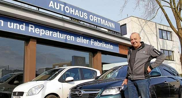 Geschäftsführer Rainer Ortmann und sein Autohaus prüfen beim gründlichen Frühjahrscheck die Fahrzeuge auf Herz und Nieren. FOTO: TBU