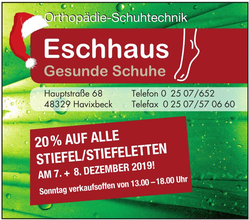 Eschhaus Gesunde Schuhe