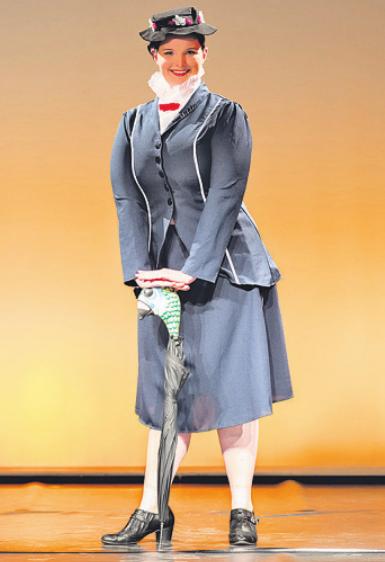 """Auch """"Mary Poppins"""" ist zu Gast im Einrichtungshaus in Wentorf"""