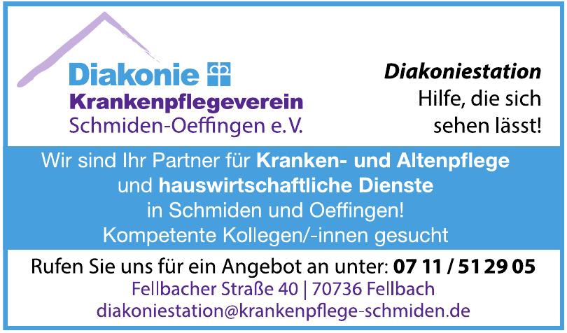 Krankenpflegeverein Schmiden-Oeffingen e.V.