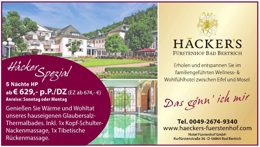 Hotel Fürstenhof GmbH
