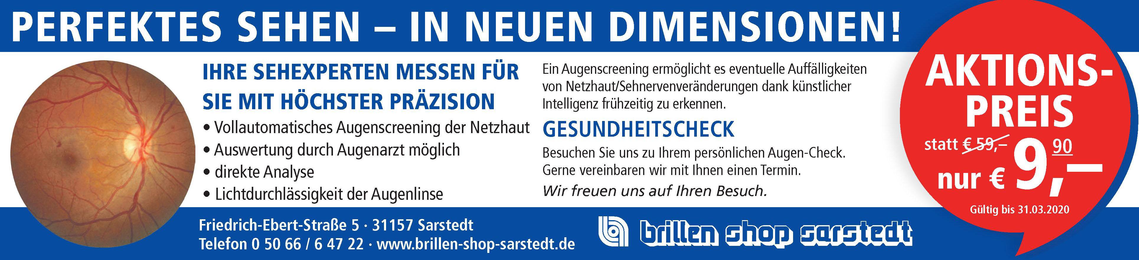 Brillen Shop Sarstedt