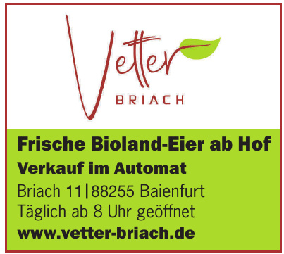 Vetter Briach