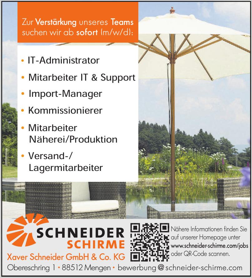Xaver Schneider GmbH & Co. KG