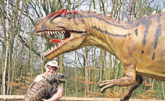 Allonso mit Jurassic Jens auf Tour.