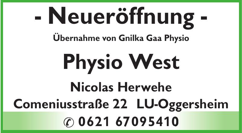 Physio West Nicolas Herwehe