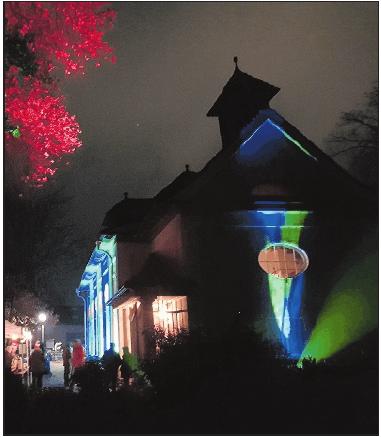 Perfekt in Szene gesetzt: die Kultur-Kapelle.FOTO: KÖHLER