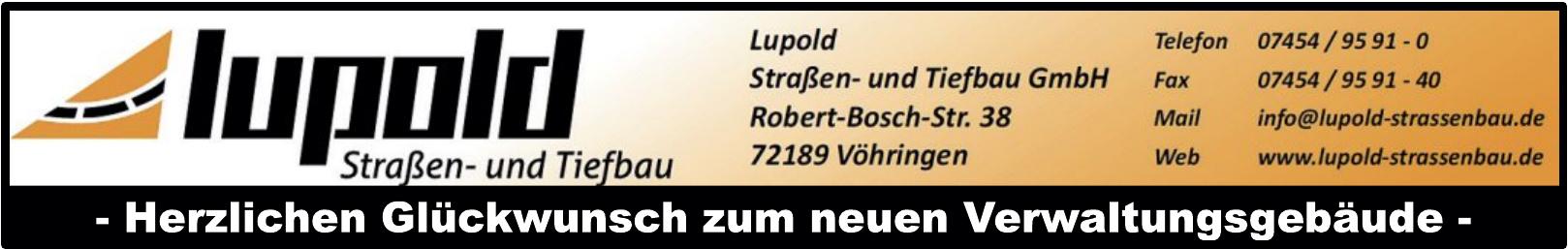 Lupold Straßen- und Tiefbau GmbH