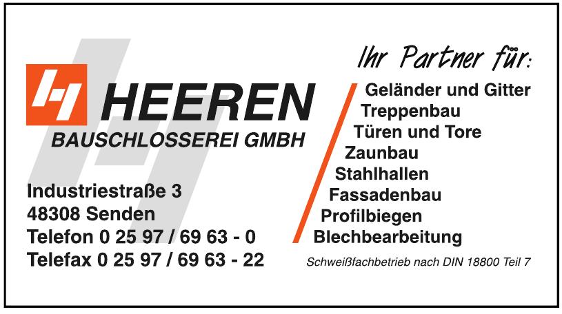 Heeren Bauschlosserei GmbH