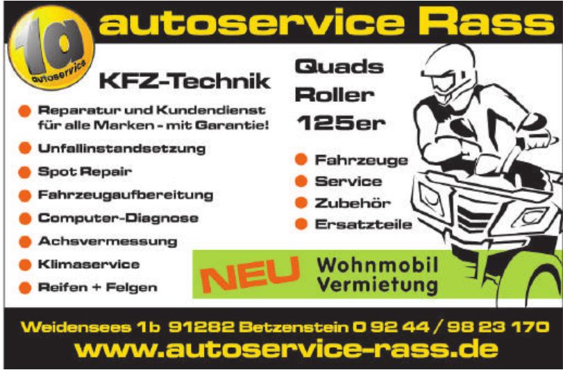 Autoservice Rass