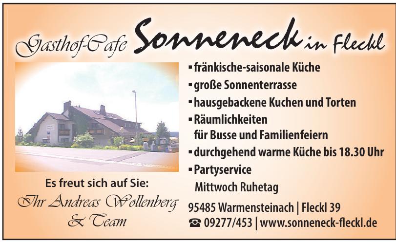 Gasthof-Cafe Sonneneck in Fleckl
