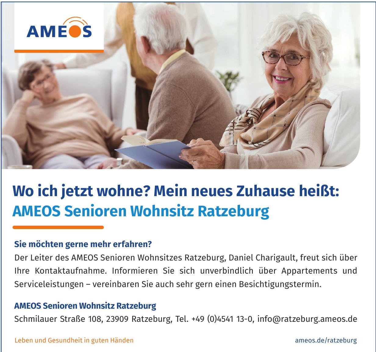 AMEOS Senioren Wohnsitz Ratzeburg