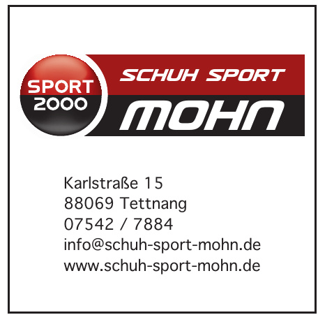Schuh Sport Mohn