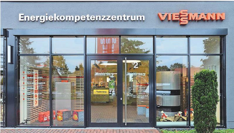 In ihrem Energiekompetenzzentrum beraten die Mitarbeiter der Firma Boddenberg individuell und stellen ein passgenaues Energiekonzept zusammen.FOTO: WWW.BODENBERG.NET
