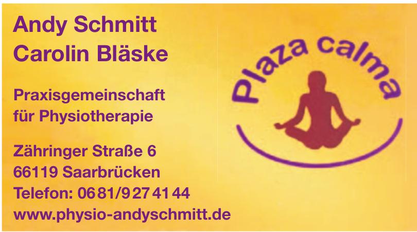 Andy Schmitt + Carolin Bläske Plaza calma