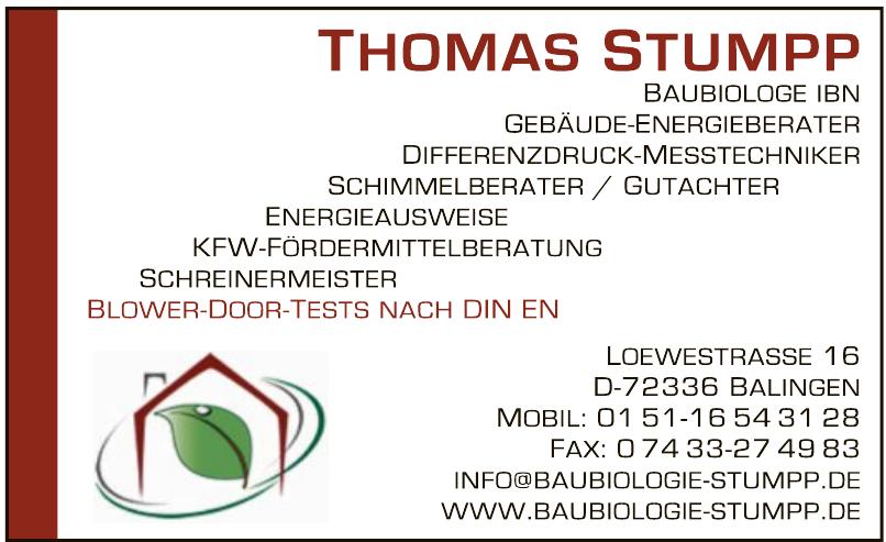 Thomas Stumpp Schreinermeister