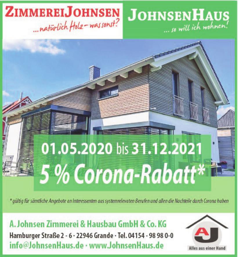 A. Johnsen Zimmerei & Hausbau GmbH & Co. KG
