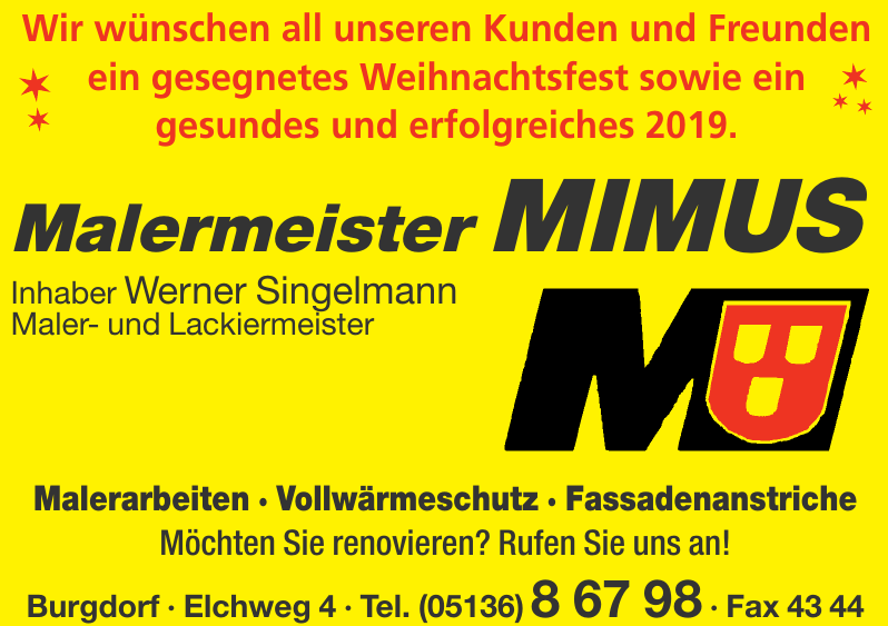 Malermeister Mimus