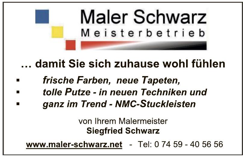Maler Schwarz