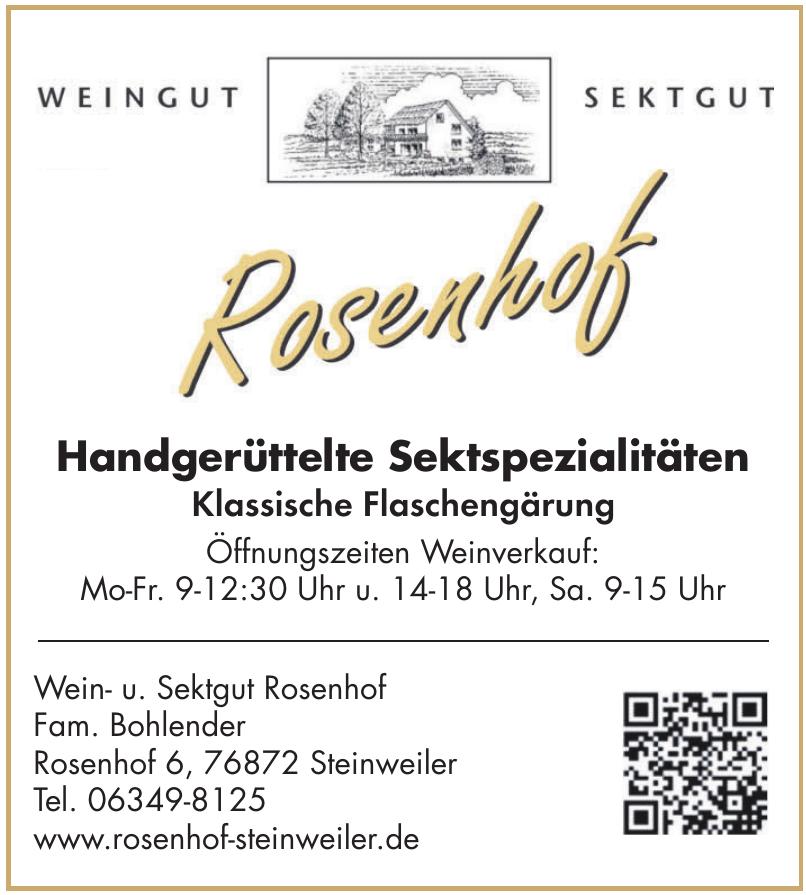 Wein- u. Sektgut Rosenhof