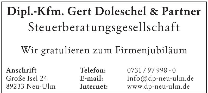 Dipl.-Kfm. Gert Doleschel & Partner Steuerberatungsgesellschaft